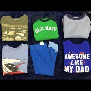 Toddler Boys Shirts & PJ Pants